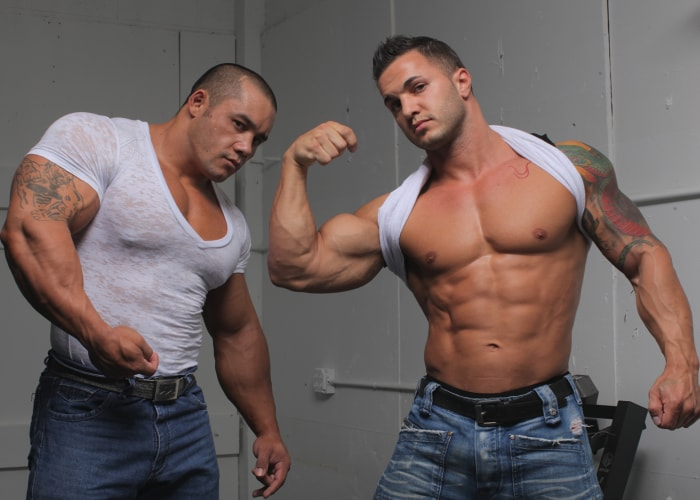Wrestling Bodybuilders